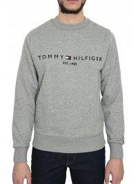TOMMY HILFIGER TOMMY HILFIGER ΦΟΥΤΕΡ LOGO SWEATSHIRT ΓΚΡΙ