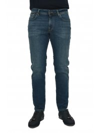 SELECTED SELECTED ΠΑΝΤΕΛΟΝΙ JEANS STRAIGHT FIT STRETCH DENIM ΜΠΛΕ