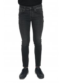 SELECTED SELECTED ΠΑΝΤΕΛΟΝΙ JEANS SKINNY FIT STRETCH DENIM ΓΚΡΙ