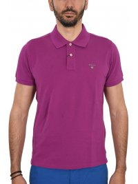 GANT GANT MAN POLO ΚΜ THE ORIGINAL PIQUE RUGGER ΜΩΒ