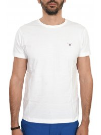 GANT GANT T-SHIRT THE ORIGINAL ΛΕΥΚΟ