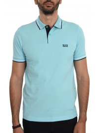 BOSS ATHLEISURE BOSS ATHLEISURE POLO SLIM FIT PAUL STRETCH ΒΕΡΑΜΑΝ