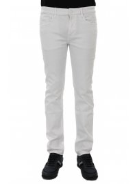 BOSS  BOSS CASUAL ΠΑΝΤΕΛΟΝΙ JEANS DELAWARE BC-L-C OPPOSITE SLIM  FIT  ΛΕΥΚΟ