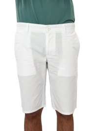 BOSS CASUAL BOSS CASUAL ΒΕΡΜΟΥΔΑ CHINO SCHINO-REGULAR SHORT ΛΕΥΚΟ
