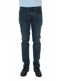 BOSS CASUAL BOSS CASUAL ΠΑΝΤΕΛΟΝΙ JEANS DELAWARE-BC-L-C CATCH SLIM FIT STRETCH ΜΠΛΕ