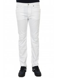 BOSS  BOSS BUSINESS ΠΑΝΤΕΛΟΝΙ JEANS DELAWARE 3-DS SLIM FIT ΛΕΥΚΟ