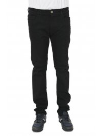 TRUSSARDI JEANS TRUSSARDI JEANS ΠΑΝΤΕΛΟΝΙ 5ΤΣΕΠΟ 380 ICON GARMENT DYED  ΜΑΥΡΟ