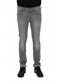 UNIFORM UNIFORM ΠΑΝΤΕΛΟΝΙ JEANS IBANEZ  SLIM FIT ΓΚΡΙ