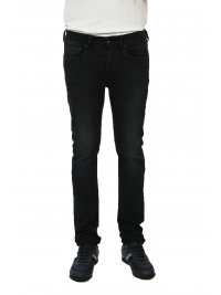 UNIFORM UNIFORM ΠΑΝΤΕΛΟΝΙ JEANS IBANEZ  SLIM FIT ΜΑΥΡΟ