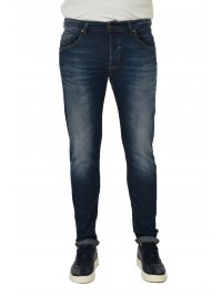 UNIFORM UNIFORM ΠΑΝΤΕΛΟΝΙ JEANS BARNEY REGULAR SLIM ΜΠΛΕ