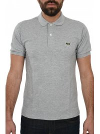 LACOSTE LACOSTE POLO CLASSIC FIT ΑΝΟΙΧΤΟ ΓΚΡΙ