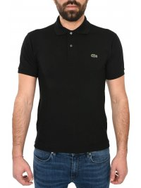 LACOSTE LACOSTE POLO CLASSIC FIT ΜΑΥΡΟ
