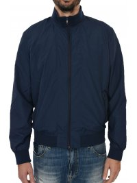 SUPERDRY SUPERDRY ΜΠΟΥΦΑΝ BOMBER FLYWEIGHT HARRINGTON ΜΠΛΕ