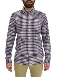 BARBOUR BARBOUR ΠΟΥΚΑΜΙΣΟ BUTTON DOWN ΚΑΡΩ HIGHLAND CHECKS ΜΠΛΕ