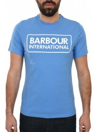 BARBOUR BARBOUR INTERNATIONAL T-SHIRT ESSENTIAL LARGE LOGO ΓΑΛΑΖΙΟ
