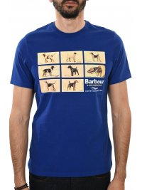 BARBOUR BARBOUR T-SHIRT PEDIGREE ΡΟΥΑ ΜΠΛΕ