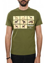 BARBOUR BARBOUR T-SHIRT PEDIGREE ΠΡΑΣΙΝΟ