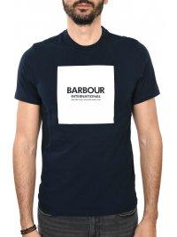 BARBOUR BARBOUR INTERNATIONAL T-SHIRT BLOCK ΜΠΛΕ