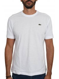 LACOSTE LACOSTE T-SHIRT ULTRA DRY ΛΕΥΚΟ