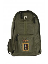 AERONAUTICA MILITARE AERONAUTICA MILITARE ΤΣΑΝΤΑ BACKPACK ZANETTO FRECCE TRICOLORI ΧΑΚΙ