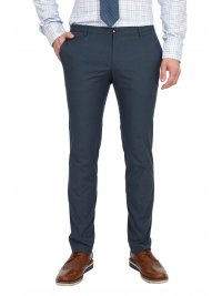 BOSS  BOSS BUSINESS ΠΑΝΤΕΛΟΝΙ CHINO TAPERED SLIM FIT STRETCH KAITO3-TRAVEL2 ΜΠΛΕ