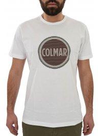 COLMAR COLMAR T-SHIRT LOGO ΛΕΥΚΟ