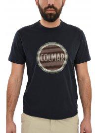 COLMAR COLMAR T-SHIRT LOGO ΜΠΛΕ