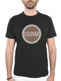 COLMAR COLMAR T-SHIRT LOGO ΜΑΥΡΟ