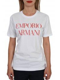 EMPORIO ARMANI EMPORIO ARMANI T-SHIRT LOGO ΛΕΥΚΟ