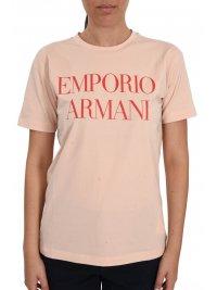 EMPORIO ARMANI EMPORIO ARMANI T-SHIRT LOGO ΡΟΖ