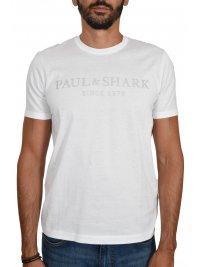 PAUL&SHARK PAUL&SHARK T-SHIRT LOGO ΛΕΥΚΟ