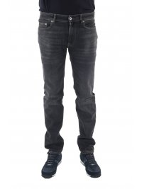LACOSTE LACOSTE ΠΑΝΤΕΛΟΝΙ JEANS  SLIM FIT STRETCH ΑΝΘΡΑΚΙ