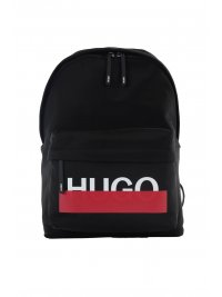 HUGO HUGO ΤΣΑΝΤΑ BACKPACK ROTELIEBE ΜΑΥΡΟ