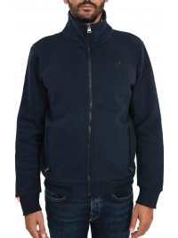 SUPERDRY SUPERDRY ΦΟΥΤΕΡ ΖΑΚΕΤΑ ZIPHOOD ORANGE LABEL TRACK ΜΠΛΕ