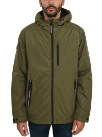 SUPERDRY SUPERDRY ΜΠΟΥΦΑΝ SURPLUS GOODS HIKER JACKET ΚΟΥΚΟΥΛΑ ΧΑΚΙ