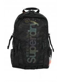 SUPERDRY SUPERDRY ΤΣΑΝΤΑ BACKPACK CAMO REFLECTIVE TRAP ΜΑΥΡΟ