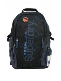 SUPERDRY SUPERDRY ΤΣΑΝΤΑ BACKPACK CAMO FADE TARP ΜΠΛΕ