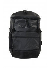 SUPERDRY SUPERDRY BACKPACK LOGO ΜΑΥΡΟ