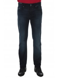 BOSS CASUAL BOSS CASUAL ΠΑΝΤΕΛΟΝΙ JEANS MAINE BC-L-P DROM REGULAR FIT SUPER STRETCH DENIM ΜΠΛΕ