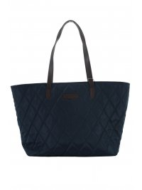 BARBOUR BARBOUR ΤΣΑΝΤΑ TOTE ΚΑΠΙΤΟΝΕ WITFORD ΜΠΛΕ
