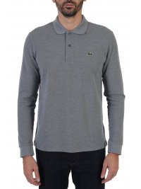 LACOSTE LACOSTE POLO CLASSIC FIT ΓΚΡΙ