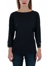 BARBOUR BARBOUR T-SHIRT RHONA ΜΠΛΕ