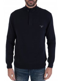 NAVY & GREEN NAVY&GREEN ΠΛΕΚΤΟ HALF ZIP ΜΠΛΕ