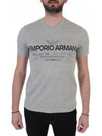 EMPORIO ARMANI EMPORIO ARMANI T-SHIRT  MILANO BACKSTAGE STAFF ΓΚΡΙ
