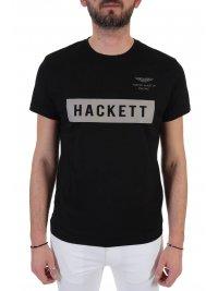 HACKETT HACKETT T-SHIRT AMR ΜΑΥΡΟ
