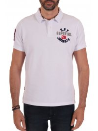 SUPERDRY SUPERDRY POLO CLASSIC SUPERSTATE ΛΕΥΚΟ