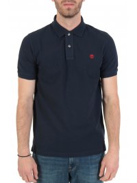TIMBERLAND TIMBERLAND POLO REGULAR FIT ΜΠΛΕ