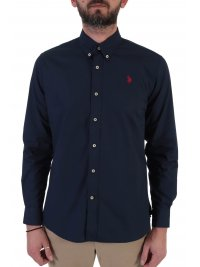 U.S. POLO ASSN U.S. POLO ASSN ΠΟΥΚΑΜΙΣΟ BUTTON DOWN REGULAR FIT KUSTAVI ΜΠΛΕ