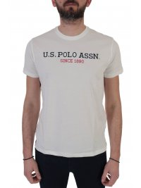 U.S. POLO ASSN U.S. POLO ASSN T-SHIRT INSTITUTIONAL ΛΕΥΚΟ