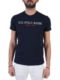 U.S. POLO ASSN U.S. POLO ASSN T-SHIRT INSTITUTIONAL ΜΠΛΕ